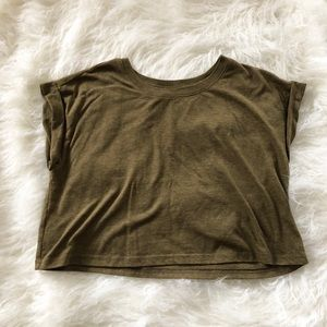 Forever 21 / Army Green Loose T-shirt